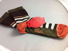 Chaussettes Berthe aux Grands pieds, T 38-41 . Neuf- Ocre, kaki, noir et beige