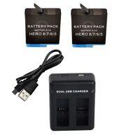 Battery Kit for GoPro Hero 8 Black (1260mAH)
