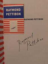 Raymond Pettibon signiert Katalog original signed autograph Signatur Autogramm