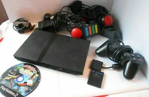 Sony Playstation 2 Slim Console With Accessories (Please Read Item Description)