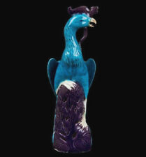 China 20. Jh. Pfau - A Chinese Porcelain Figure of a Peacock - Chinois Cinese