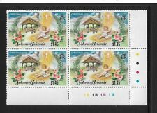 1995 Solomon Islands - Christmas Issue - Corner Block With Traffic Lights - MNH.