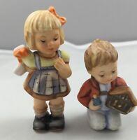 Goebel Berta Hummel Figurine Set My Favorite Nativity & A Surprise For You 623