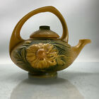 Roseville Pottery Peony #3 Yellow Tea Pot