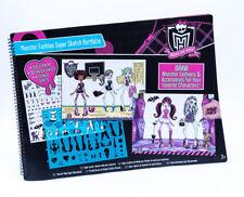 Monster High Skizzenblock / Malset / Stickerset / Slizzenbuch  XXL Set 54 x 40