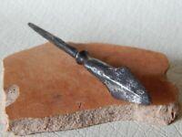 Ancient Viking Iron Arrowhead 11 - 12 century