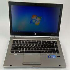 HP EliteBook 8470p 2.6Ghz Core i5 8GB 320GB WebCam Windows 7 Pro