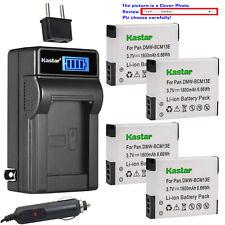 Kastar Battery LCD AC Charger for DMW-BCM13 DMW-BCM13E Panasonic Lumix DMC-ZS50K