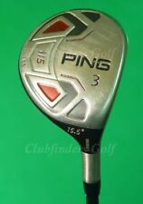 Ping I15 Fairway 15.5° 3 Wood Ping PWR75 Tour Graphite Extra Stiff