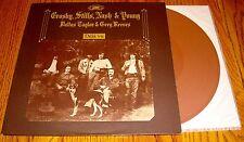 CROSY STILLS NASH & YOUNG DEJA VU IMPORT BROWN COLORED VINYL LP MADE IN HOLLAND