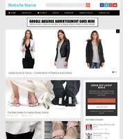 LADIES FASHION STORE - Established Online Business Website For Sale Mobile +