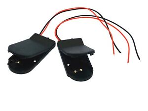 2X DIY CR2032 3V Button Coin Cell Battery Holder Case Box With On-Off Switch