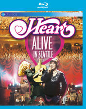 Heart: Alive in Seattle Blu-Ray (2017) Heart ***NEW***