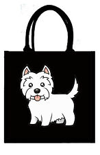 Eco-friendly Jute shopper bag - Single Westie