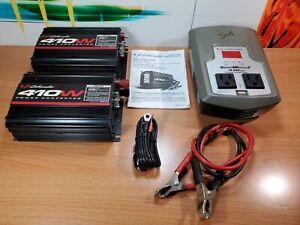 3 Schumacher Power Converter Inverter LOT 410 Watts XI41B / XL41DU Car Mobile