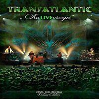TRANSATLANTIC- KALIVEOSCOPE (LTD.DELUXE BOX SET 2DVD+3CD+BLURAY) 5 CD + DVD NEW+