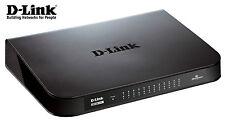 Netzwerk Switch 24 Port D-Link GO-SW-24G 10/100/1000Mbit DSL LAN GIGABIT HUB
