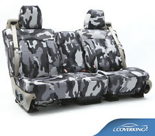NEW Full Printed Traditional Urban Camo Camouflage Seat Covers / 5102046-12
