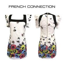 Unique Cotton French Connection Floral Dress - Size 10