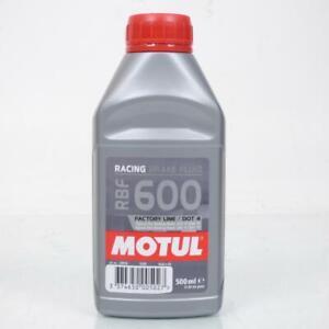 Liquide de frein Motul RBF 600 Dot 4 Factory Line en bidon de 500ml Neuf