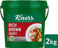 Knorr Rich Brown Gravy Gluten 2kg   Makes 20l