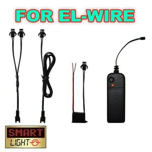 Accessories for EL Wire inc Splitters, Controllers, Inverters and Ballasts
