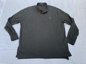 Polo Ralph Lauren Pima Soft Touch Long Sleeve Shirt-Mens XL *Great Condition!*