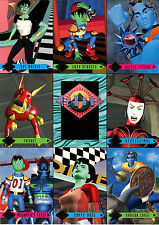 REBOT 1995 FLEER ULTRA UNNUMBERED 9-CARD PROMO SHEET
