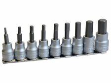 Teng - M3812 Socket Clip Rail Hex Socket Metric- 3/8in Drive