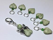 Handmade Stitch Markers for Knitting, Gift for Knitters
