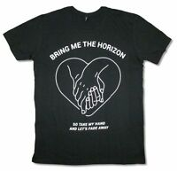 Bring Me The Horizon Take My Hand Fade Away Black T Shirt New Official BMTH
