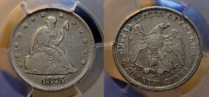 1875 P Twenty Cent Piece 20c PCGS Very Fine 20