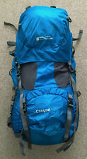 Canyon 65L Backpack, Mountain Warehouse Extreme, Blue, Good condition