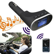Bluetooth Wireless FM Transmitter for Car Radios Speaker Handfree Calling iPhone