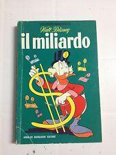 I CLASSICI MODERNI DI WALT DISNEY - IL MILIARDO 1961  MONDADORI - BUONO/OTTIME