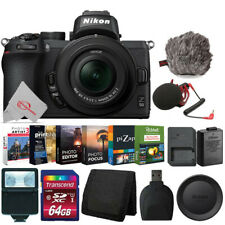 Nikon Z50 Mirrorless Digital Camera with 16-50mm Lens Best Vlogging Vlogger Kit