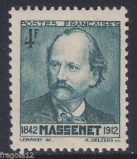 FRANCE 1942 - JULES MASSENET - F. 4 - MNH