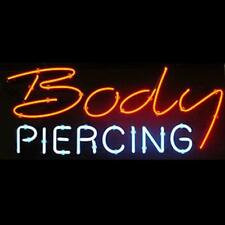 "New Tattoo Body Piercing Neon Light Sign 17""x14"""
