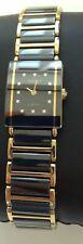 Rado Sintra Jubile Ceramica Bicolore Bracciale 12x Diamond Watch-RARE ORIG