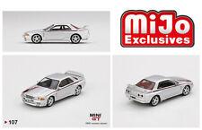 MINI GT 1:64 Mijo Exclusive Nissan GT-R R32 Nismo S-Tune Silver