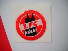 1. FC KÖLN  Aufkleber rund ( domiert )    Neu