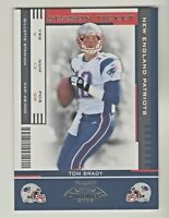 2005 Playoff Contenders SEASON TICKET #59 TOM BRADY New England Patriots GOAT
