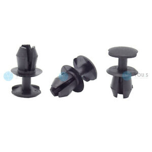 50 X You.S Bonnet Boot Clips Ø 7 MM for Seat Ibiza II III IV - New