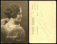 Philippines 1929 Manila Carnival Queen Princess Santa Maria RPPC 3