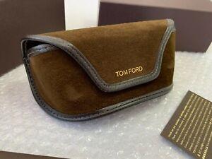 Case Tom Ford Brown Sunglasses Cloth Velvet Eyeglasses Large Box Sunglass