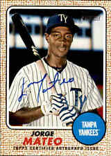 2017 Topps Heritage Minors Real One Autographs Jorge Mateo #ROAJM NICE