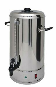 SYBO Commercial Grade Stainless Steel 15 liters 100 Cups Coffee Maker and Hot...