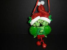 BRAND NEW KURT ADLER FAMILY OF TWO TURTLE CHRISTMAS HOLIDAY ORNAMENT