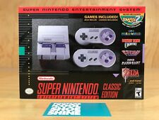 NINTENDO'S SUPER NINTENDO ENTERTAINMENT SYSTEM NES CLASSIC EDITION GRAY BNIB