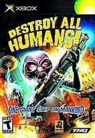 Destroy All Humans!  XBOX XBOX 360 XBOX ONE BRAND NEW, SEALED PACKAGE